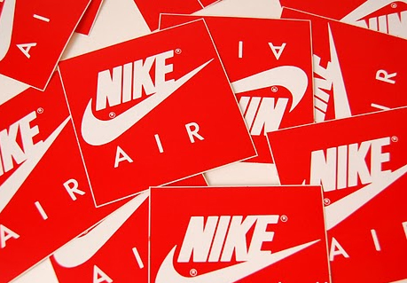 Nike labels