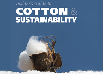 Cotton sustainability book