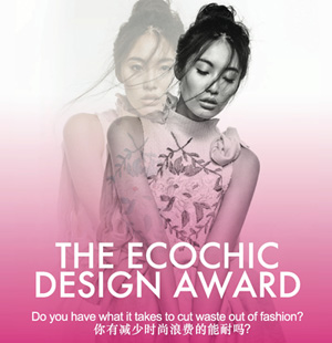 Eco Chic Design Award poster