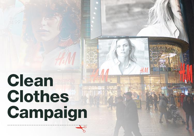 Risultati immagini per CLEAN CLOTHES CAMPAIGN