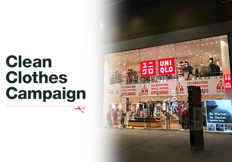 Uniqlo Unpaid Worker Action Needed Says Ccc Social Compliance Csr News News