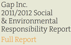 Gap sustainability report