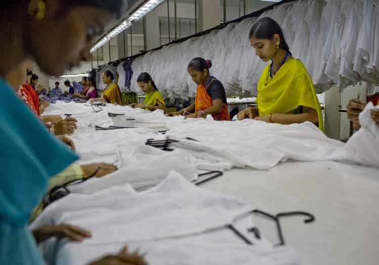 Garment workers India