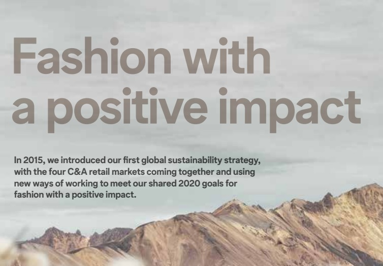 C&A sustainability report 2015