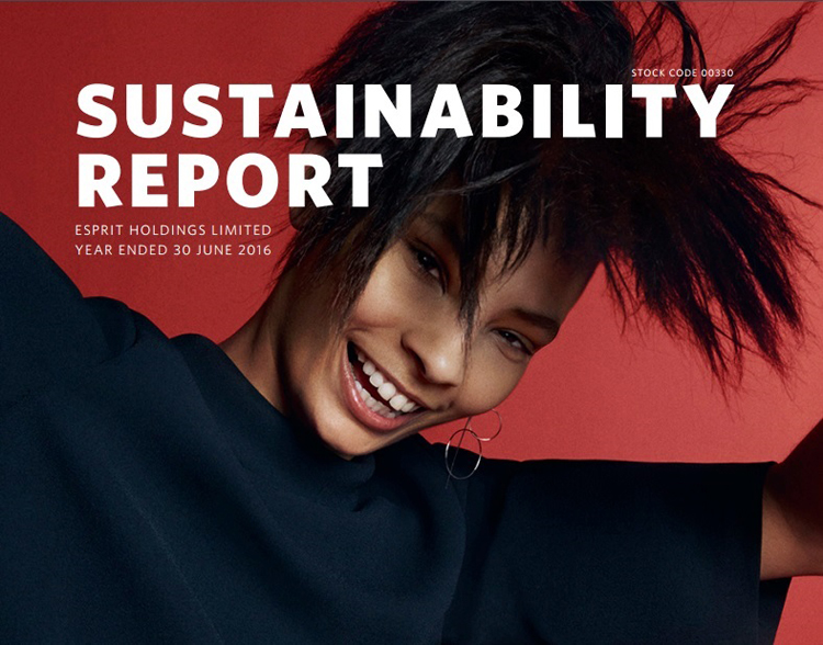 Esprit sustainability report 2016