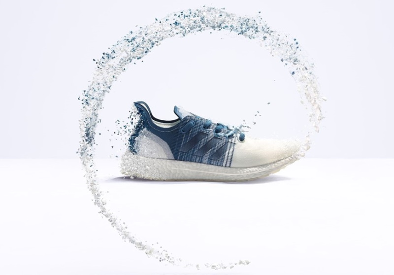 Adidas recycles high performance running shoe