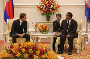 HM Cambodia meeting