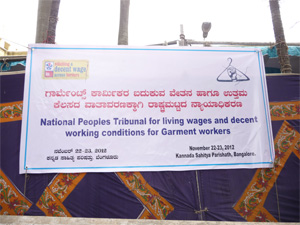 National People's Tribunal banner